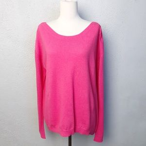 Diane Von Furstenberg Sweater Long Sleeve Pink, L